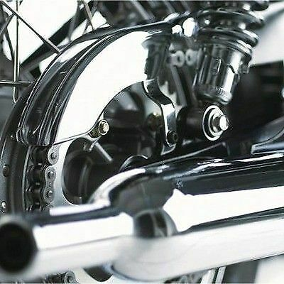 Genuine Triumph Scrambler Chrome Chainguard Chain Guard A9730088