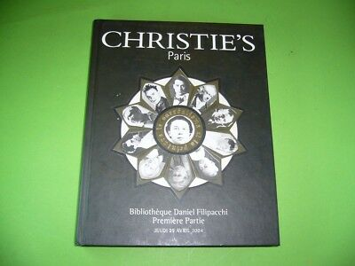 602KF2 Auction catalogue CHRISTIE'S Paris Bibliothèque Daniel Filipacchi 2004