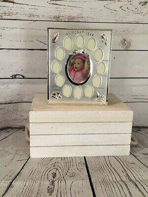 The Juliana Collection My First Year Baby Photoframe