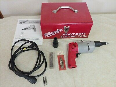 MILWAUKEE MODEL No. 6767-1, HEAVY-DUTY/GENERAL PURPOSE SCREW-SHOOTER KIT