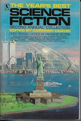 The Year's Best Science Fiction 1985 PB VG+ Second Annual Collection 1st Bluejay