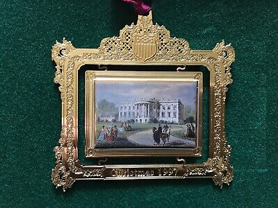 1997 The White House Historical Association Christmas Tree Ornament