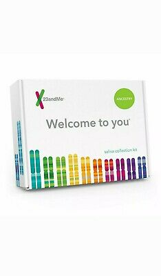 NEW 23andMe DNA Test Kit Ancestry Personal Genetic Family Tree  sealed