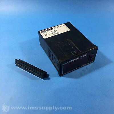 Sensotec 060-3147-02 Digital Display and Signal Conditioner USIP