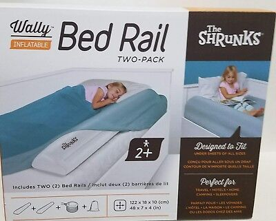 Shrunks Inflatable Bed Rail / 2 Pack Bed Rails / Barrier