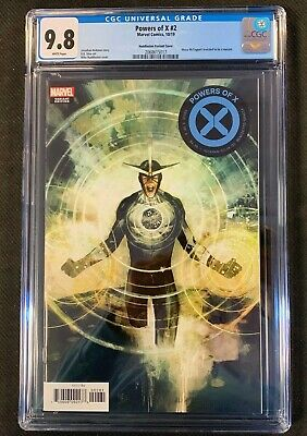 Powers of X #2 Huddleston Variant First Print 1:10 CGC 9.8 NM/MINT