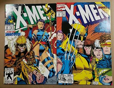 X-Men #6 & 11(1992) 1St Appearance Of Birdy! Jim Lee Art! Combined Shipping!