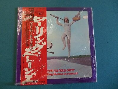 The Rolling Stones - Get Yer Ya-Ya's Out - London LAX 1015 - Japan - SEALED