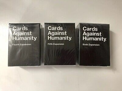 Cards Against Humanity 4 5 6 Expansions