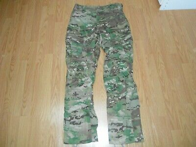 US ARMY Issue Combat Pants Multicam Medium Long with Knee Pad Holes Military G3