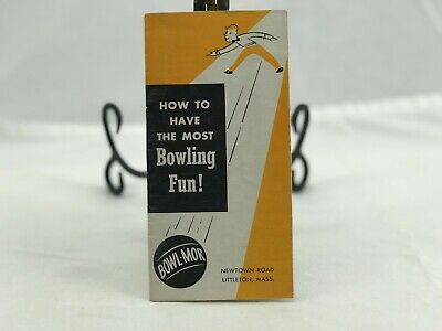 Vintage Bowl-Mor PSA How to have the Most Fun Bowling