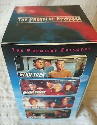 Star Trek The Premiere Episodes Box Set Of VHS-brand new still in plastic wrap.
