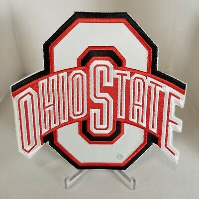 Ohio State Buckeyes Official Logo Embroidery Iron On Patch Hat