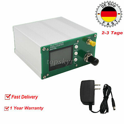 FA-2 1Hz-6GHz Frequency Counter Kit Frequency Meter Statistical Function tpsEU
