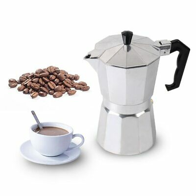 Stovetop Moka Coffee Maker 1/3/6/9/12 Cup Italian Top Espresso Expresso Cafe Set