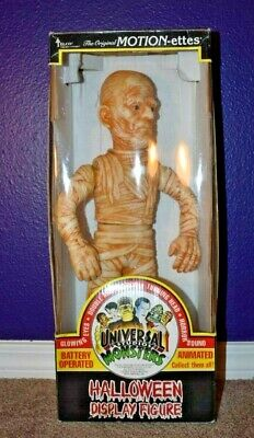Telco Mummy Universal Monsters Halloween Motionette Motion-Ette With Box WORKS!!