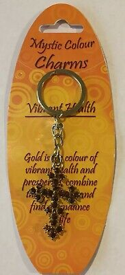 Mystic Colour Charms, Confidence Protection, Health, Strength And Courage. GOLD.