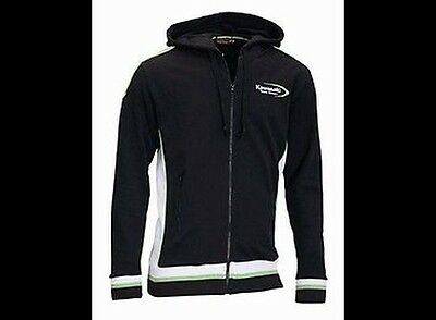 Kawasaki Capuche Team Vert Taille M Original Vêtements Sweat à Zxr Kxf Kx