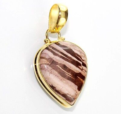 Super Sale Wonderful Mookaite 24k Gold Plated Pendant Jewelry Dh-5350