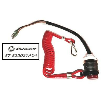 MARINER 8 9.9 15HP 4-STROKE OUTBOARD SAFETY KILL CORD SWITCH LANYARD PN 15920Q54