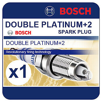 VW Golf Plus 1.4 TSI 120BHP 07-08 BOSCH Double Platinum Spark Plug FR6HI332