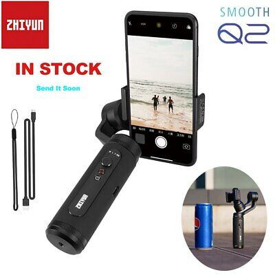 US Zhiyun Smooth Q2 3-Axis Handheld Gimbal Stabilizer for iPhone 11 Pro Max XS
