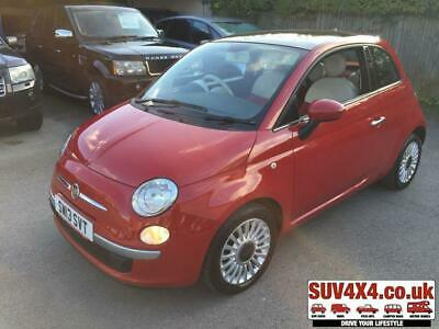 2013 13 Fiat 500 1.2 Lounge 3D 69 Bhp One Owner Panroof Alloys Mot 08/20