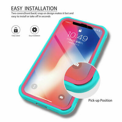 iPhone 11 Pro Max 2019 Case Hybrid Heavy Duty Shockproof Clear Back Cover