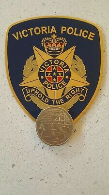 Victoria badge / patch Gold PSO
