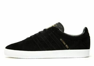 Mens Adidas Originals 350  uk 9 ,10 and 11.. Black / gold // Gazelle / AQ0909