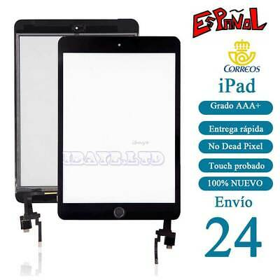 Pantalla Tactil para iPad Mini 3 Touch negro Con IC CHIP Botón Digitalizador
