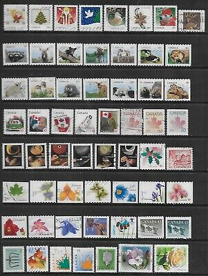 Canada Off Paper Collection Of Various  Used Stamps.# 2