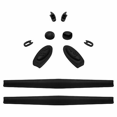 Rubber Kit Replacement Ear Socks & Nose Pieces For-Oakley Romeo 1 -Black