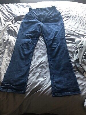 Blooming Marvellous Mothercare Ladies Maternity Jeans Over Bump 16