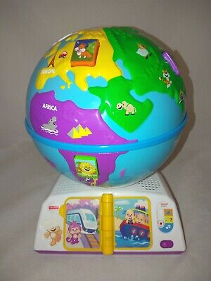 Fisher Price Smart Stages Greeting Globe Interactive Songs Animals Countries