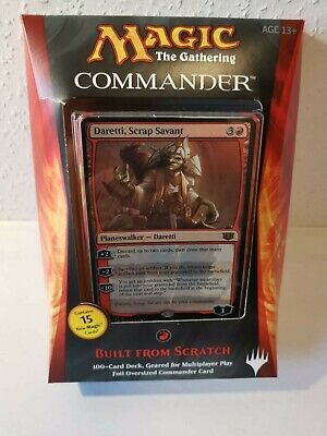 Magic The Gathering Commander 2014 Built from Scratch deck