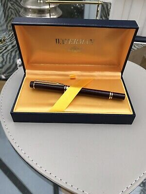 Lovely Boxed Waterman Ideal Fountain Pen Gold Nib Paris