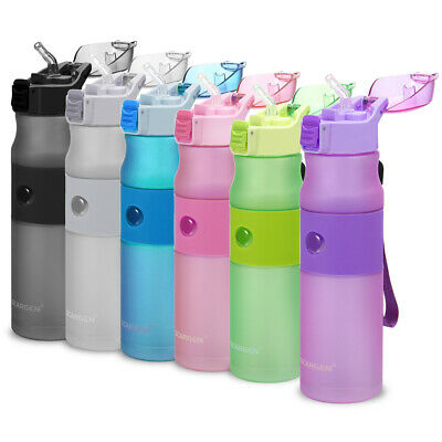 Doeplex Water Bottle with Time Marker BPA Free Sports Travel Water Bottle Cup