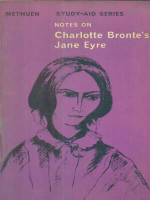 Notes On Charlotte Bronte's Jane Eyre  Aa.vv. Methuen 1967 Study-Aid Series