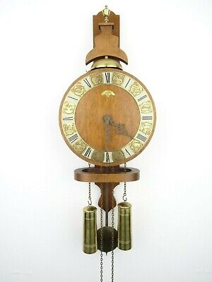 Dutch Vintage Antique Warmink WUBA ZODIAC Wall Clock (Zaanse  Junghans Era)