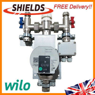 Wilo Single Room Manifold Pump & Water Mixing Valve for Underfloor Heating