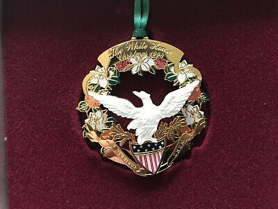 1998 The White House Historical Association Christmas Tree Ornament