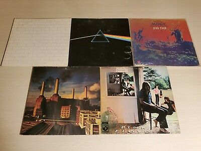 PINK FLOYD Vinyl LP Record Albums Dark Side The Wall Animals More, AS IS Damaged