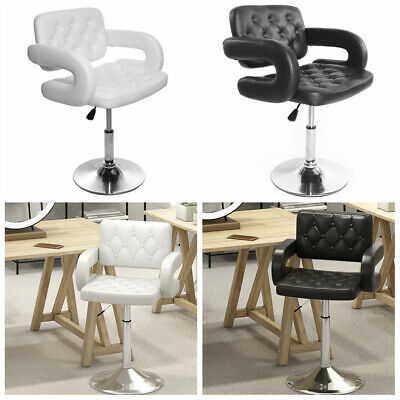 Barber Chairs Hairdressing Styling Shaving Salon Shop Armrest Barber Stool UK