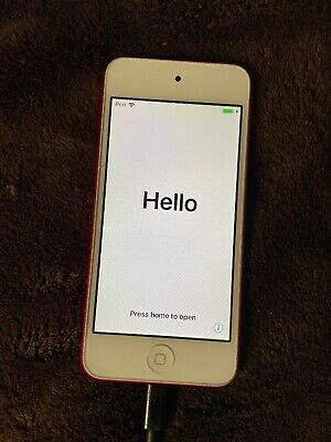 Apple iPod Touch 6th Generation 32GB - Pink (MKHQ2LL/A) With Rubber Case