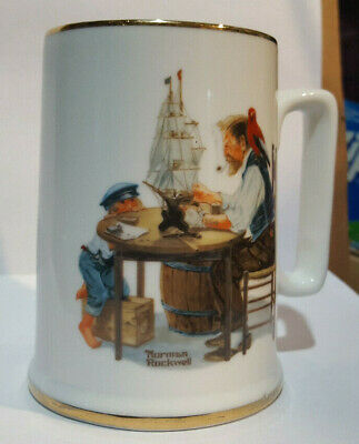 "Norman Rockwell Museum ""For A Good Boy"" Mug Cup *Excellent* Free Shipping"