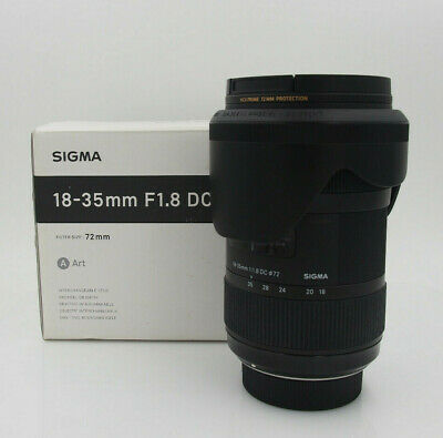 Sigma 18-35mm f/1.8 HSM DC Lens for Nikon #6035