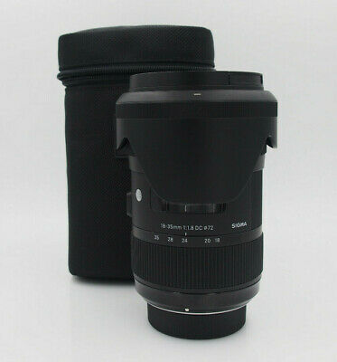 Sigma 18-35mm f/1.8 HSM DC Lens for Nikon #6036