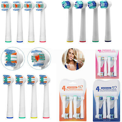 12 Pcs  Electric Toothbrush Heads Compatible With Oral B Toothbrush Head 3 style