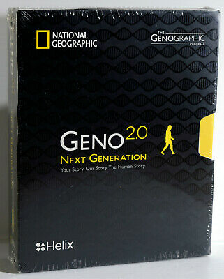NEW National Geographic Helix Geno 2.0 Next Generation DNA Test Kit 05-02-2020